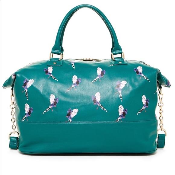 bd5689da55 Deux Lux Bags | Green Anguilla Bird Weekend Bag | Poshmark